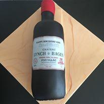 wine bottlecake